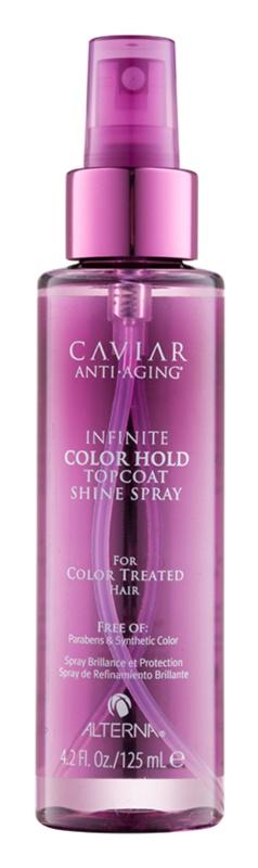 Alterna Caviar Infinite Color Hold Spray pentru protejarea culorii părului fara parabeni