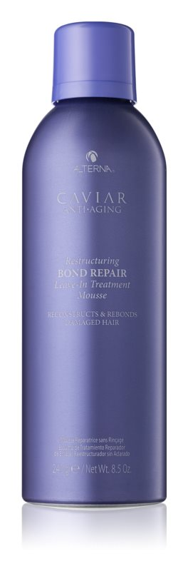 Alterna Caviar Anti-Aging pena na vlasy pre poškodené vlasy