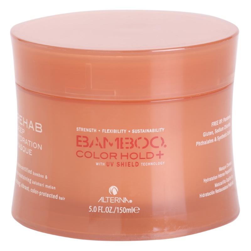 Alterna Bamboo Color Hold+ masque hydratant intense pour cheveux colorés