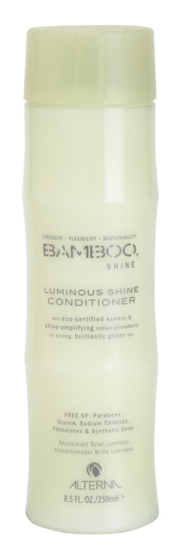 Alterna Bamboo Shine kondicionér pre trblietavý lesk