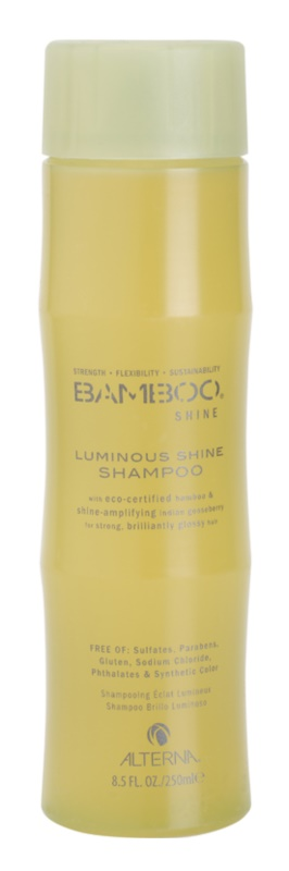 Alterna Bamboo Shine shampoing pour un éclat lumineux