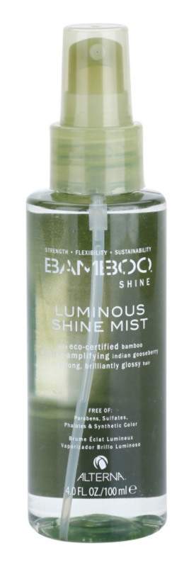 Alterna Bamboo Shine mlha pro lesk a hebkost vlasů