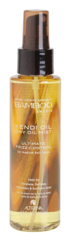 Alterna Bamboo Smooth Droge Olie Spray  tegen Kroes Haar