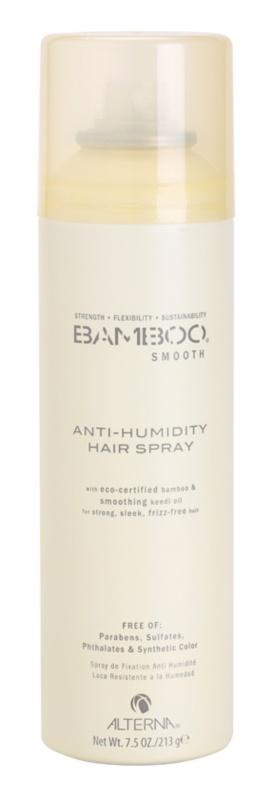 Alterna Bamboo Smooth hajlakk ellenáll a levegő nedvességének