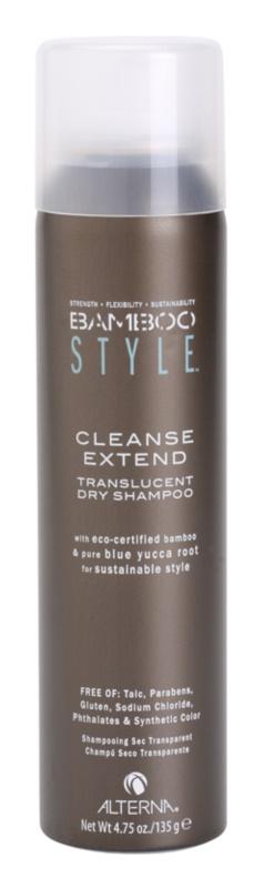 Alterna Bamboo Style száraz sampon szulfát és parabén nélkül