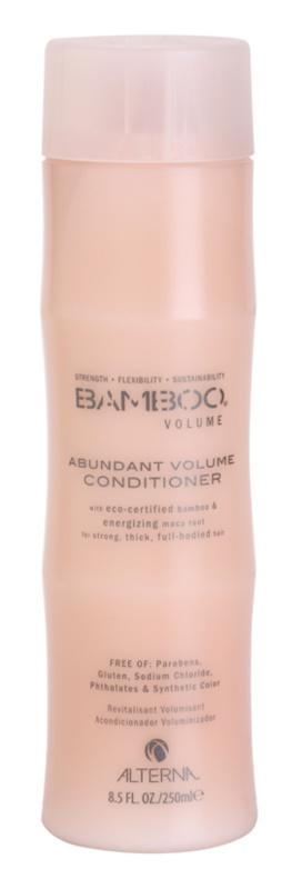 Alterna Bamboo Volume après-shampoing pour donner du volume