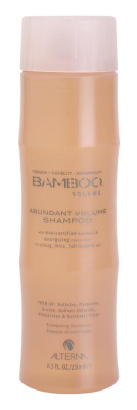 Alterna Bamboo Volume champú para un volumen abundante