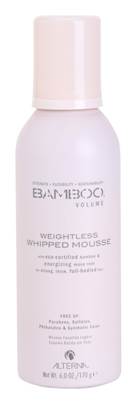 Alterna Bamboo Volume Weightless Whipped Mousse For Volume From Roots