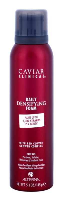 Alterna Caviar Clinical pianka pielęgnacyjna do rzednących włosów