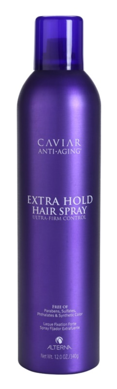 Alterna Caviar Style laque cheveux fixation extra forte