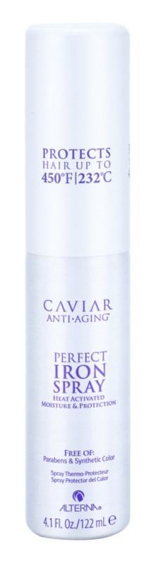 Alterna Caviar Style spray  a hajformázáshoz, melyhez magas hőfokot használunk