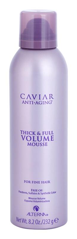 Alterna Caviar Volume mousse cheveux pour donner du volume