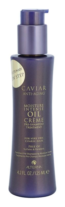 Alterna Caviar Moisture Intense Oil Creme Feuchtigkeitspflege zur Nutzuung vor der Haarwäsche für sehr trockene Haare