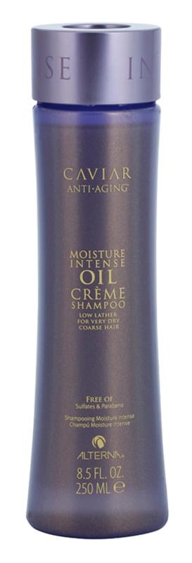 Alterna Caviar Moisture Intense Oil Creme champô para cabelo muito seco para cabelos muito secos