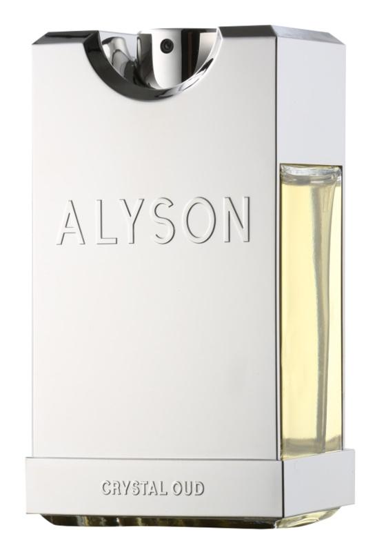 Alyson Oldoini Crystal Oud eau de parfum pentru bărbați 100 ml
