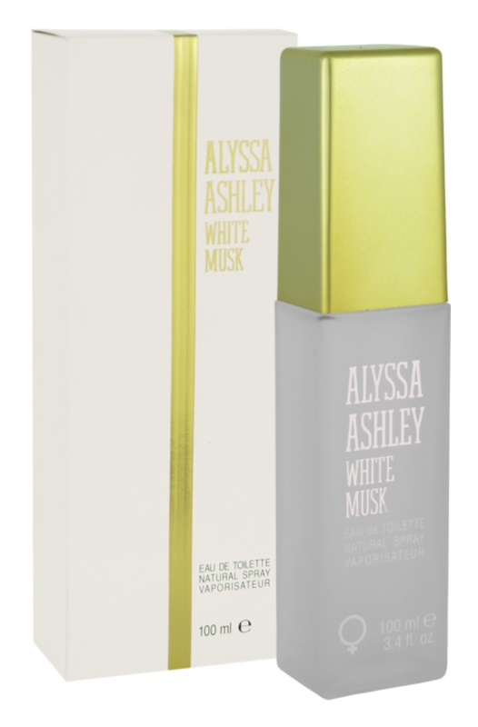 Alyssa Ashley Ashley White Musk eau de toilette nőknek 100 ml