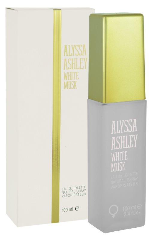 Alyssa Ashley Ashley White Musk Eau de Toillete για γυναίκες 100 μλ