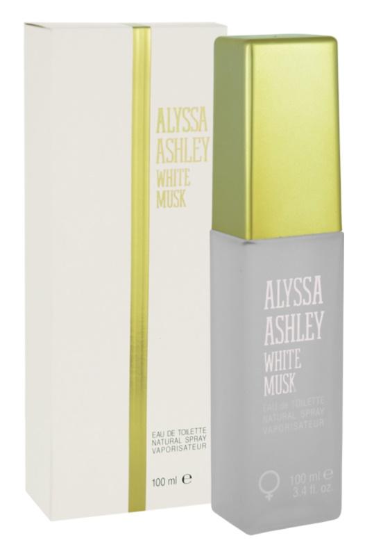 Alyssa Ashley Ashley White Musk toaletní voda pro ženy 100 ml