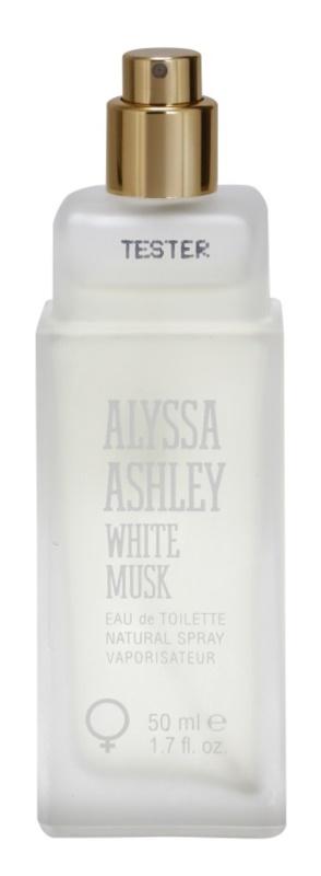 Alyssa Ashley Ashley White Musk eau de toilette teszter nőknek 50 ml