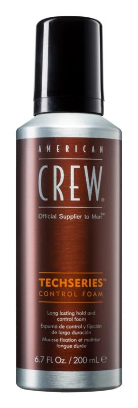 American Crew Techseries espuma styling  para reafirmação duradoura
