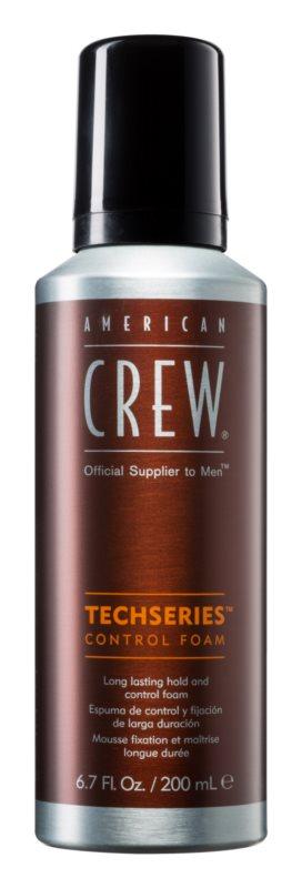 American Crew Techseries hajformázó hab hosszan tartó fixálásért