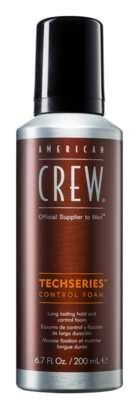 American Crew Techseries Styling Schaum für langanhaltende Festigung