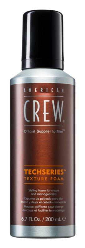 American Crew Techseries mousse styling per modellare e definire l'acconciatura