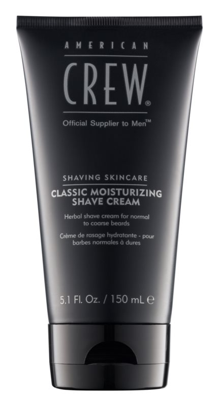 American Crew Shaving Classic крем для гоління на основі трав