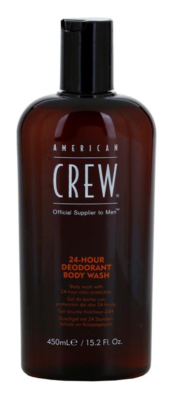American Crew 24 Hour Douchegel met Deodorant Werking  24h