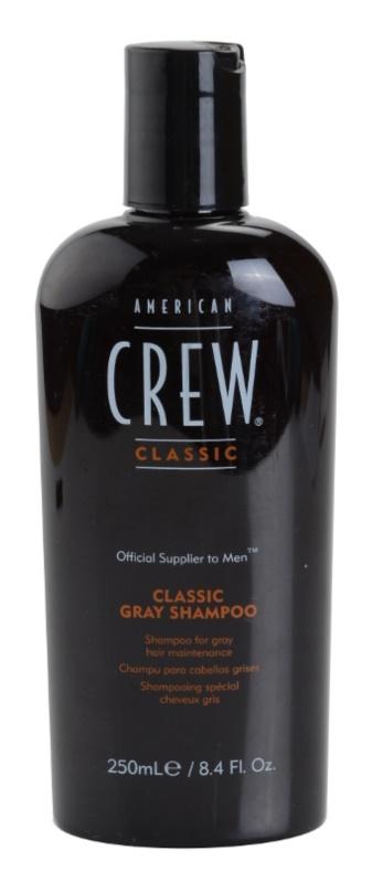 American Crew Classic szampon do włosów siwych