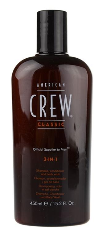 American Crew Classic шампоан, балсам и душ гел 3 в 1 за мъже