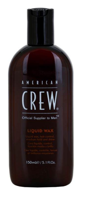 American Crew Classic рідкий віск для волосся з блиском