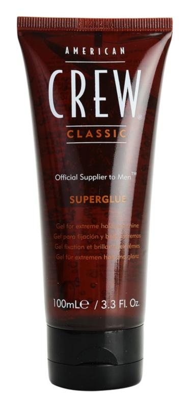 American Crew Classic gel na vlasy extra silné zpevnění