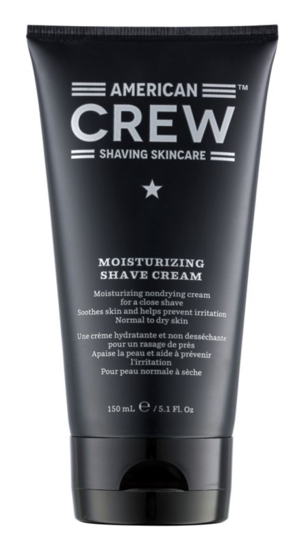 American Crew Shaving Feuchtigkeitsspendende Rasiercreme für normale und trockene Haut
