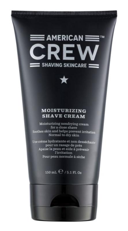 American Crew Shaving зволожуючий крем для гоління для нормальної та сухої шкіри