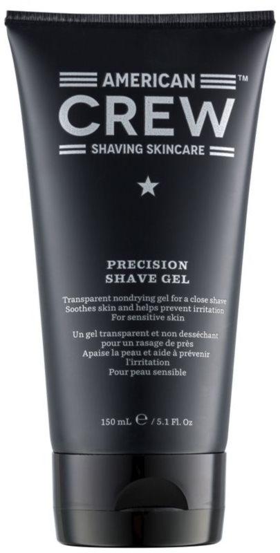 American Crew Shaving gel de rasage peaux sensibles