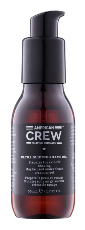 American Crew Shaving huile pour barbe émolliente