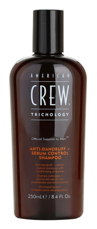 American Crew Trichology champú anticaspa para regular el sebo cutáneo