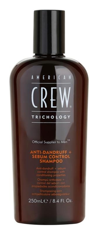 American Crew Trichology korpásodás elleni sampon a faggyútermelés szabályozására