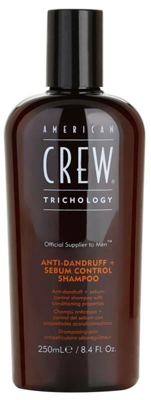 American Crew Trichology šampon proti prhljaju za regulacijo sebuma