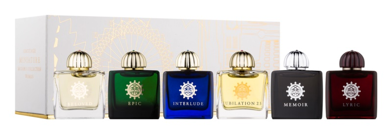 Amouage Miniatures Bottles Collection Women darčeková sada V.