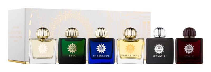 Amouage Miniatures Bottles Collection Women dárková sada V. Lyric, Epic, Memoir, Jubilation 25, Interlude, Beloved