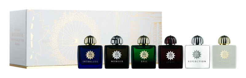 Amouage Miniatures Bottles Collection Women set cadou VIII.