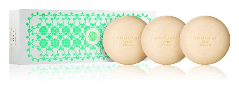 Amouage Epic Perfumed Soap for Women 3x150 g