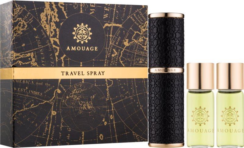 Amouage Memoir парфюмна вода за мъже 3 x 10 бр. (1 бр. зареждащ се + 2 бр. пълнеж)
