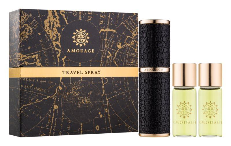 Amouage Memoir eau de parfum pour homme 3 x 10 pcs (1x rechargeable + 2x recharge)