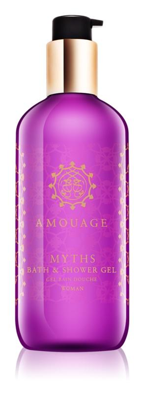 Amouage Myths gel douche pour femme 300 ml