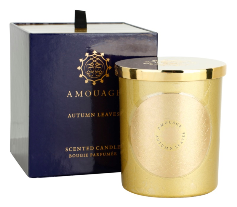 Amouage Autumn Leaves świeczka zapachowa  195 g