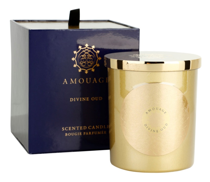 Amouage Divine Oud vonná sviečka 195 g
