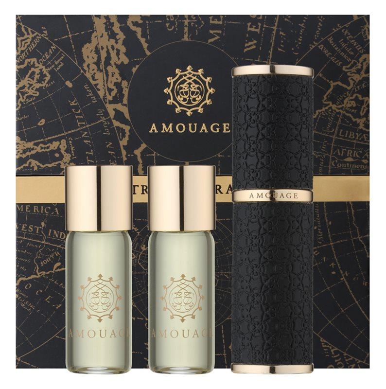 Amouage Epic eau de parfum férfiaknak 3 x 10 ml (1x utántölthető + 2x utántöltő)